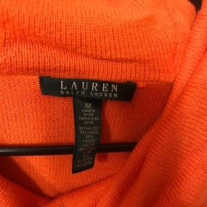 Orange Ralph Lauren Sweater Women's Medium